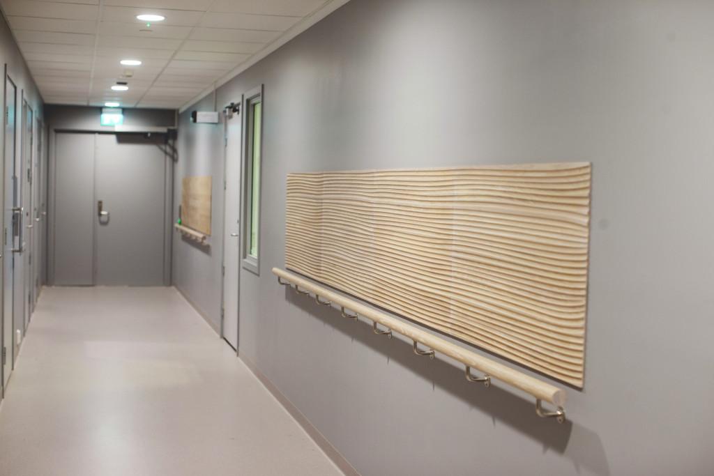 Illustrasjonsfoto. Korridor.